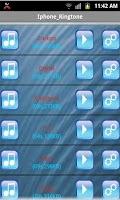 Screenshot of iPhone Ringtones
