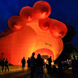 Skywhale warming up by Edward Luong - News & Events Entertainment