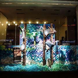 Hermes Shop Window by Cory Bohnenkamp - City,  Street & Park  Markets & Shops ( shop, hermes, market, window, vancouver )
