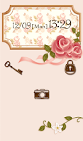 Screenshot of Cute wallpaper★Vintage rose