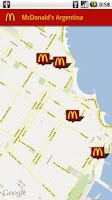 Screenshot of McDonald's Argentina