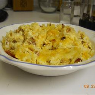Cheesy Amish Breakfast Casserole