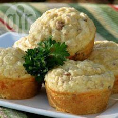 Low Fat Sausage and Cheese Muffins