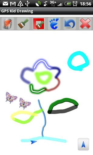 【免費休閒App】GPS Kid Draw-APP點子