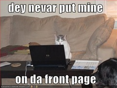 dey never put mine lolcat