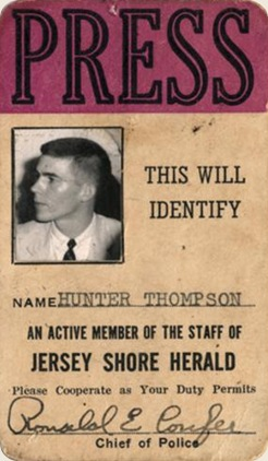 Hunter Thompson press pass-thumb