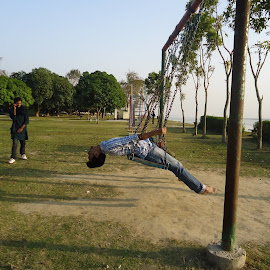 flying flat... by Anik Asibul Islam - City,  Street & Park  Amusement Parks