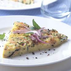 Smoked-Salmon and Cream Cheese Frittata