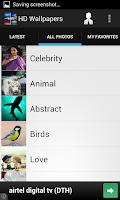 Screenshot of HD Wallpapers