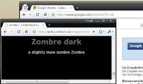 google chromeをクールなデザイン テーマに変えてしまおう web