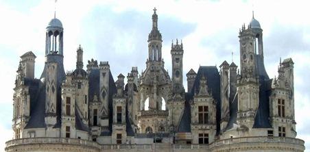 Château de Chambord-toit