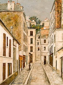 Utrillo-Passage Cottin