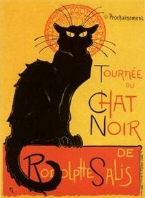 Théophile Steinlen-Le Chat Noir