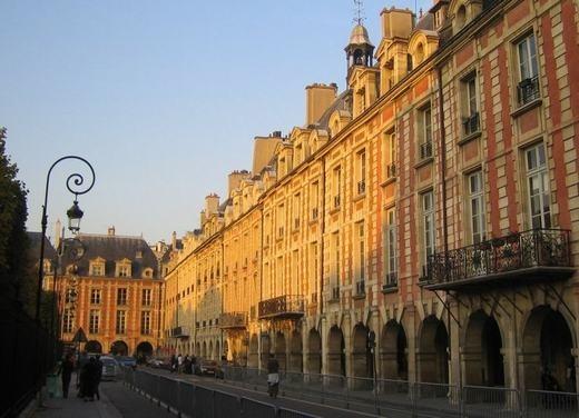 Place des Vosges-houses