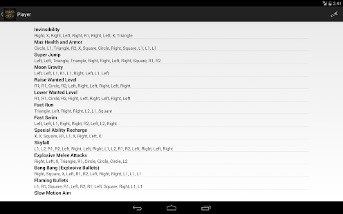 cheats for gta 5 (ps4 / xbox) android apps on google play