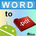 Word To PDF (No Advertising) icon