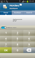 Screenshot of Nordea Eesti