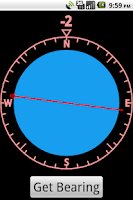 Screenshot of GPS Compass Pro