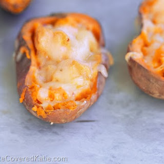 Loaded Baked Sweet Potato Skins