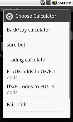 Bet Calculator 8 in 1 Pro