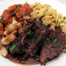 Crock Pot Pot Roast With Noodles