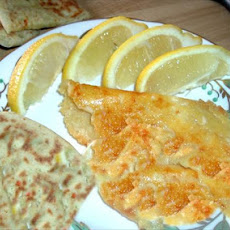 Saganaki (fried Cheese) Greek Style