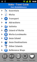 Screenshot of Malta - FREE Travel Guide
