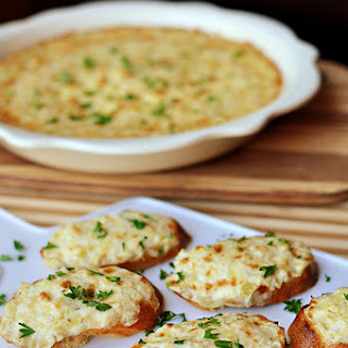 Artichoke Bruschetta (or Hot Artichoke Dip)