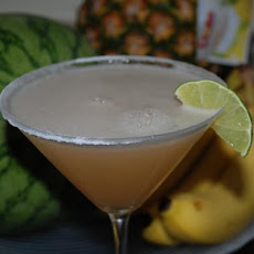 Grapefruit Margarita Martini