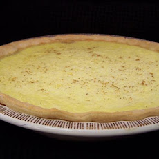Grandma's Coconut Custard Pie