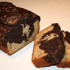Martha Stewart's Marble Cake With White Chocolate Glaze