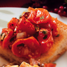 Roasted Cherry Tomato and Fresh Herb Bread