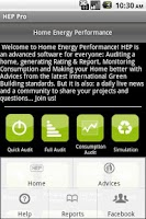 Screenshot of Home Energy Performance US