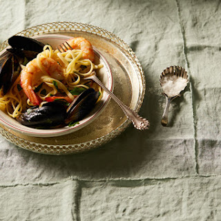 Pasta With Mussels And Prawns Recipes