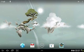 Screenshot of Sky Islands LWP free