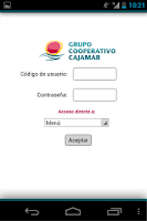 Screenshot of Grupo Cooperativo Cajamar