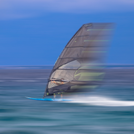Speed by Igor Rosina - Sports & Fitness Surfing ( water, ugljan, surfing, speed, windsurfing )