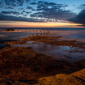 Maroubra Beach  Mahon Tidal pool by Helen Tweedie - Landscapes Sunsets & Sunrises