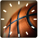 BASKETBALL ANALOG CLOCK Widget