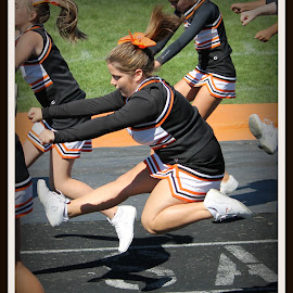 cheerleading by Christine Bartlett Csiszer - Sports & Fitness Other Sports