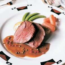 Roast Tenderloin of Beef with Jack Daniel's Peppercorn Sauce