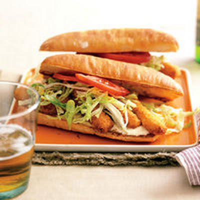 Fish Stick Po' Boys