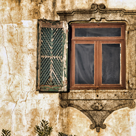 Old window by Antonio Amen - Buildings & Architecture Architectural Detail ( window )