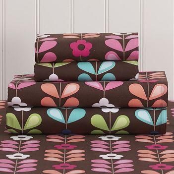 Chelsea Floral Sheet Set