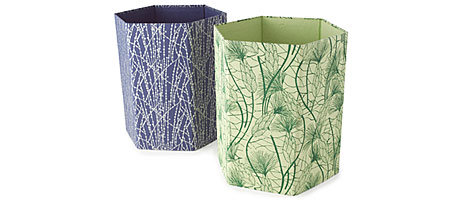 Recycled Cotton Wastebaskets