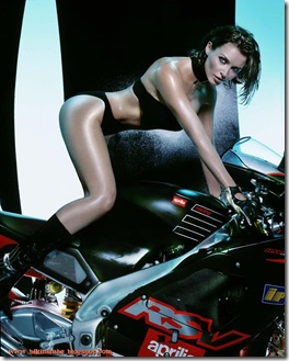 Dannii-Minogue-bikini-Motorcycle-2