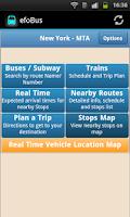 Screenshot of efoBus - Transit On Time