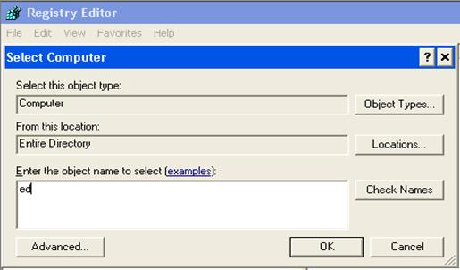 remote-registry