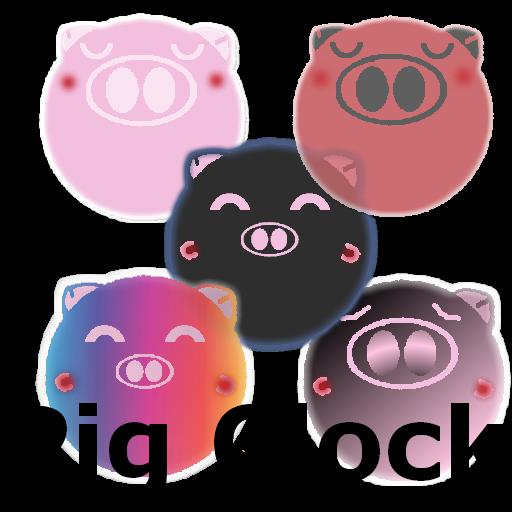 豬時鐘 (pig clock & weather) 天氣 App LOGO-APP開箱王