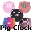 Pig Clock & Weather Forecast icon